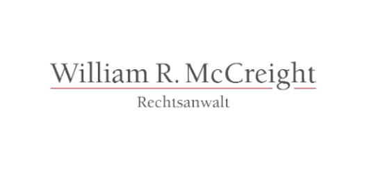 Herr Rechtsanwalt William R. McCreight
