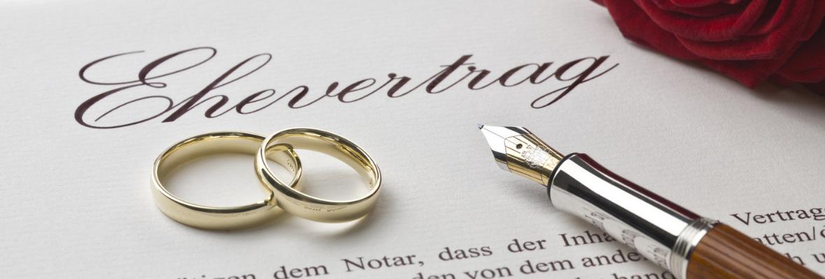 Ehevertrag: So einfach sichern Sie sich richtig ab!