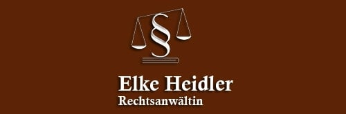 Rechtsanwältin Elke Heidler Kanzlei Elke Heidler 12351 Berlin