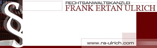 Rechtsanwalt Frank Ertan Ulrich Kanzlei Frank Ertan Ulrich 10707