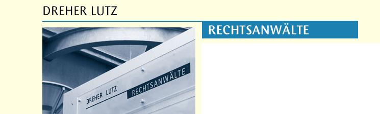 Rechtsanwältin Dr Martina Dreher Dreher Lutz Rechtsanwälte